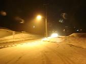 長野‧090116‧北志賀滑雪旅行:第一次看到這麼厚的積雪
