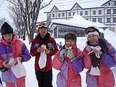 長野‧090116‧北志賀滑雪旅行:清早在啃早餐的大家