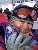長野‧090116‧北志賀滑雪旅行:臉頰都紅紅的哈哈