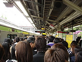 2009 黃金週:原宿車站站內