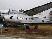 韓國戰爭紀念館:F-86F軍刀機