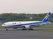 成田機場展望台:全日空 777-281(ER)