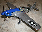 我的模型:1/48 P-51D (長谷川)