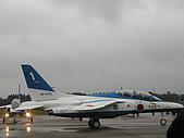 日本自衛隊50週年慶:藍色衝擊的T-4