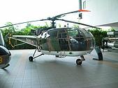 新加坡空軍博物館:法製雲雀式直升機