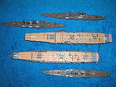 我的模型:1/700聯合艦隊
