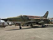 洛杉磯北美佬博物館:F-105 戰鬥機