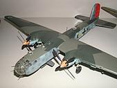 我的模型:1/72 He-177德軍重轟炸機 (AirFix)