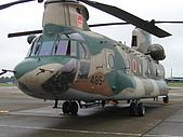日本自衛隊50週年慶:CH-47 直升機