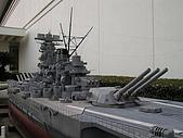 東京船的科學館:1/100大和號後部