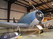 洛杉磯北美佬博物館:SBD 俯衝轟炸機