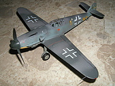 我的模型:1/48 Bf109G6 (Academy)