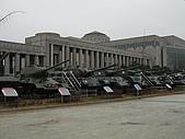 韓國戰爭紀念館:室外展場的戰車群