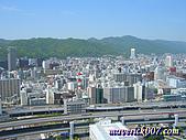 2005京阪神:神戶-Kobe Tower上望山邊拍