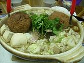 各式鍋物:美味小館-沙鍋魚頭加兩顆獅子頭