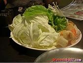 各式鍋物:旭屋-菜盤