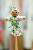 樂活主義:2007.11.19 我做的『稻草人鉛筆娃娃』