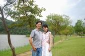 樂活主義:2007.8.04 兩人在梅花湖邊散步