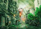 photoshop電繪:城市巷戰完稿.jpg