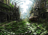 photoshop電繪:廢墟2.jpg