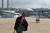 2008-02 Tacoma 玻璃博物館:背景是知名的Tacoma Dome