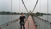 100.10.15 虎頭埤烤肉:100.10.15 虎月吊橋─虎頭埤風景區