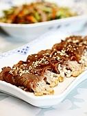 我是台灣人,愛吃中國菜:20100803金針菇牛肉卷&木須炒三絲