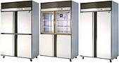 不銹鋼直立式冷凍冷藏庫:4門凍藏庫