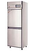 不銹鋼直立式冷凍冷藏庫:雙門凍藏庫