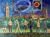 鄭美珠2001-05年油畫:時間的思索-倫敦 oil43.jpg