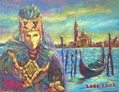 鄭美珠2001-05年油畫:威尼斯之戀oil46.JPG
