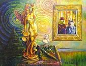 鄭美珠2001-05年油畫:暖暖的風oil56.jpg