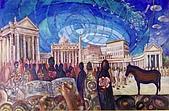 鄭美珠2001-05年油畫:信仰沒有疑問-梵諦岡oil42.jpg