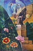 鄭美珠2001-05年油畫:沉思與徘徊的境界-巴黎oil41.jpg