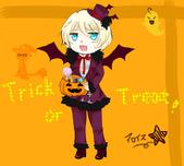 咖啡小真的繪畫:Halloween.png