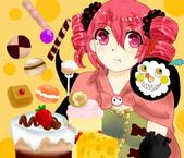 咖啡小真的繪畫:甜食魔女夏洛特擬人.PNG
