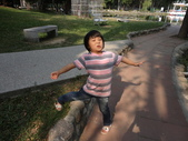 Q寶貝.軒寶貝搞笑篇:1001029Q寶貝再台南公園搞笑照 (8).JPG