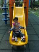 Q寶貝.軒寶貝居家篇:小Q小嫩在溜滑梯玩 (1).JPG