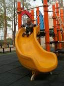 Q寶貝.軒寶貝居家篇:小Q小嫩在溜滑梯玩 (2).JPG