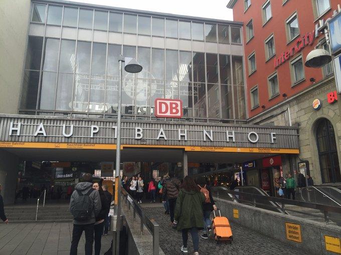 慕尼黑  DB Intercity  hotel - 【2017。德國】超級貴婦團科隆,杜塞道夫。慕尼黑。羅騰堡,紐倫堡,新天鵝堡