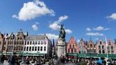 【2017。比利時】超級貴婦團之布魯塞爾Brussel,布魯日Brugges:布魯日    Market市集廣場