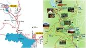 【2013 。日光楓華】小田代原與戰場之原:從湯之湖一路到戰場之原和小田代原地圖