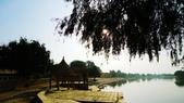 【2016。勇闖印度】金城賈沙米爾堡。粉紅城捷浦爾:賈沙米爾人工湖 Gadi Sagar