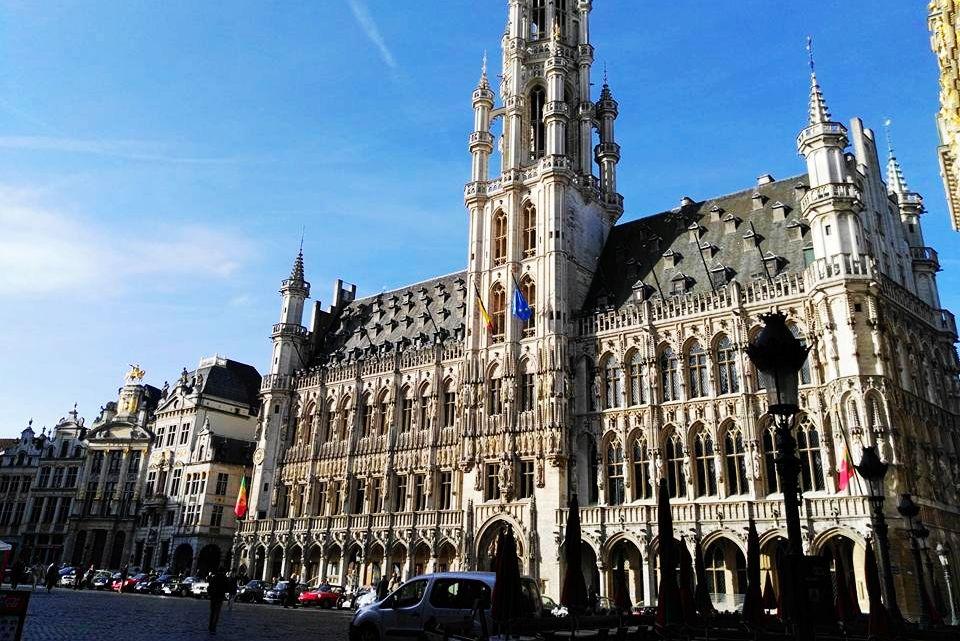 布魯塞爾-Brussel - 【2017。比利時】超級貴婦團之布魯塞爾Brussel,布魯日Brugges