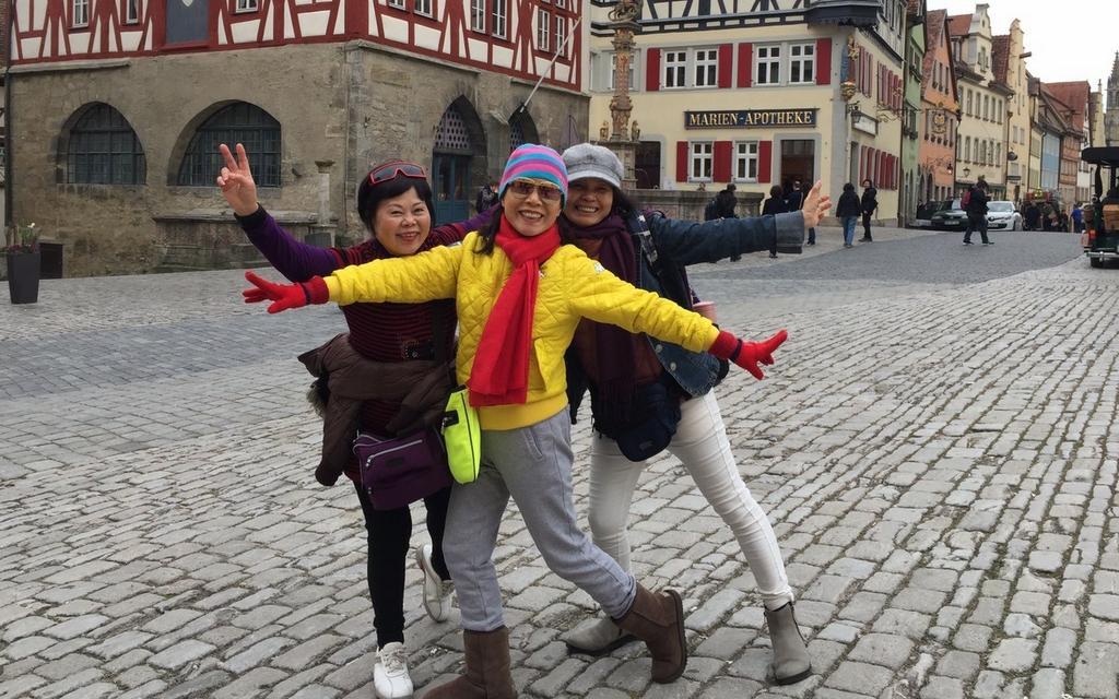 羅騰堡 - 【2017。德國】超級貴婦團科隆,杜塞道夫。慕尼黑。羅騰堡,紐倫堡,新天鵝堡