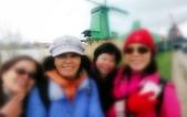 【2017。荷蘭】超級貴婦團之阿姆,桑斯安斯Zaanse Schans,北海漁村沃倫丹:風車村贊丹Zaanse Schans北海漁村