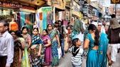 【2016。勇闖印度】印度女人。沙麗Sari。印式食物:沙麗