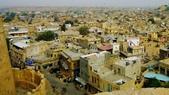 【2016。勇闖印度】金城賈沙米爾堡。粉紅城捷浦爾:金色城市齋沙默爾城堡 Jaisalmer Fort