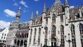 【2017。比利時】超級貴婦團之布魯塞爾Brussel,布魯日Brugges:布魯日Brugges市政廳
