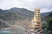 Rishikesh, March 2007:青山、綠水、黃金寺